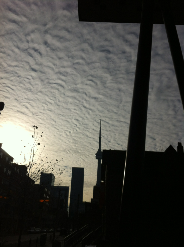 Clouds in Toronto
