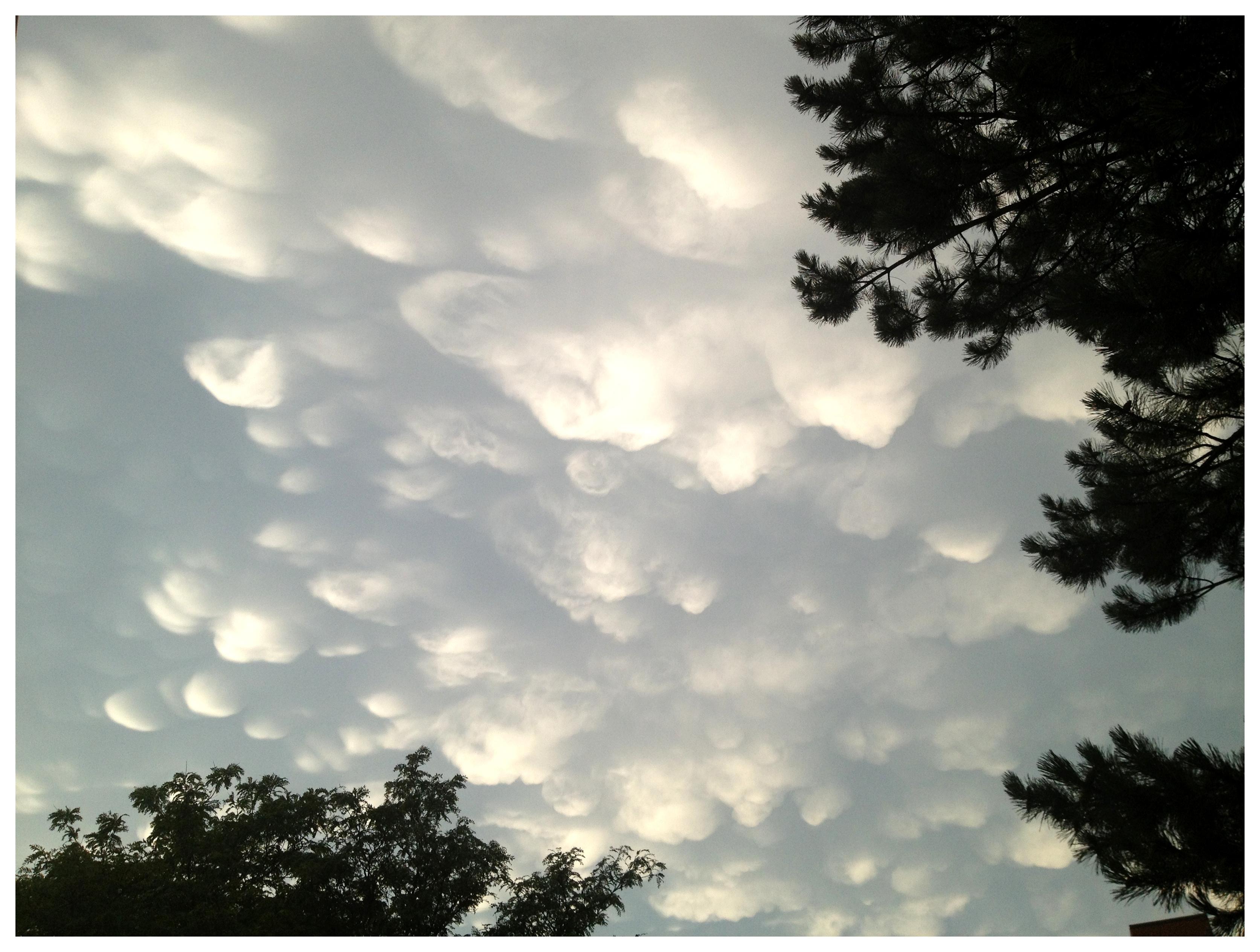 Wolken nach dem Sturm