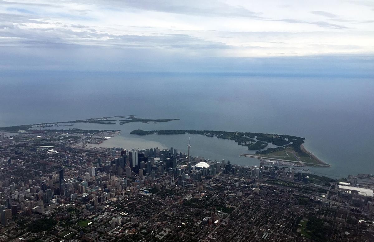 Toronto von oben