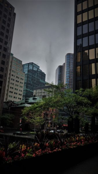 CN Tower in the Rain