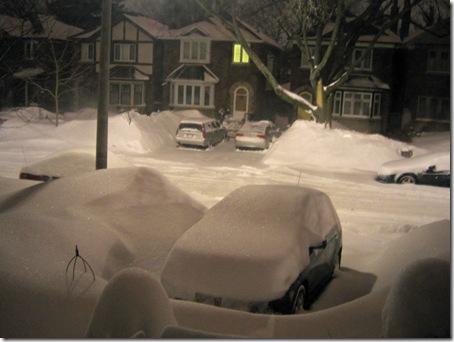 Schnee im Maerz