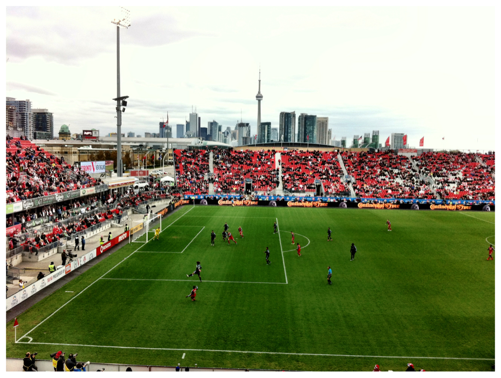 Last Toronto FC game of the season
