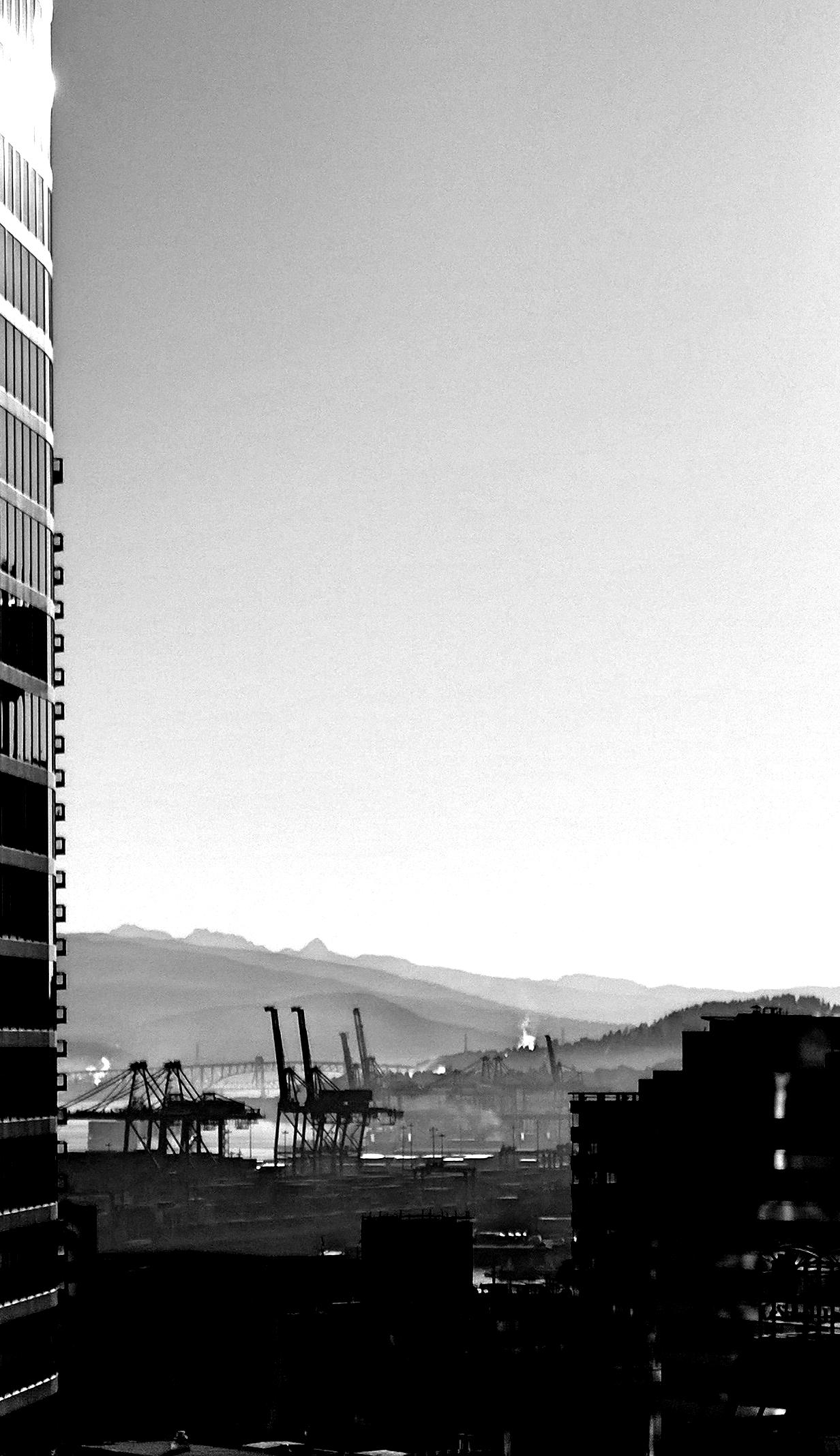 Der Hafen von Vancouver