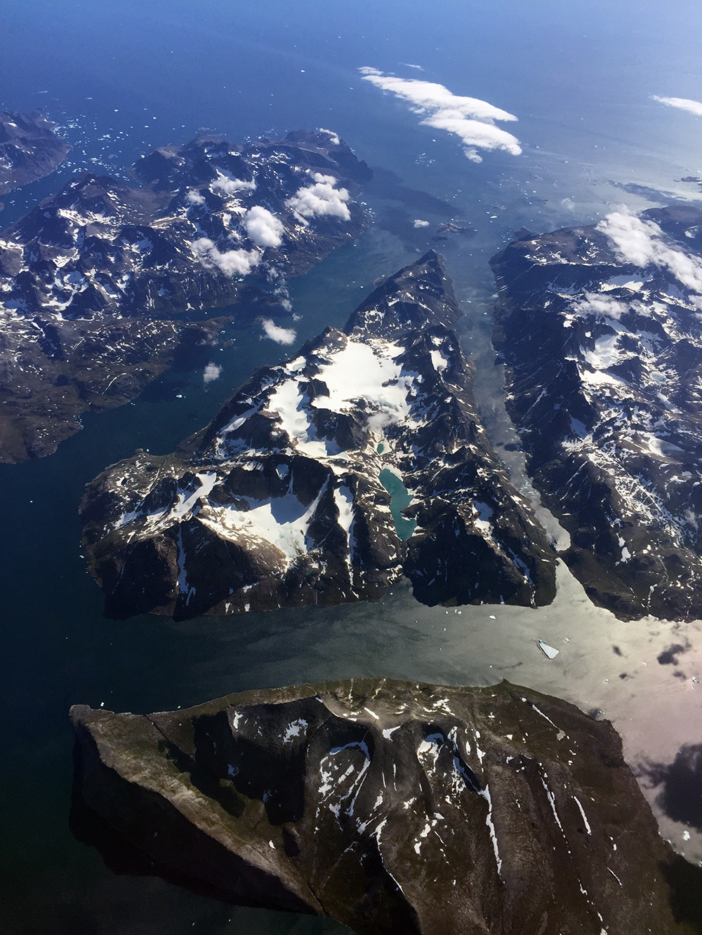 Ikeq Island on the southern tip of Greenland